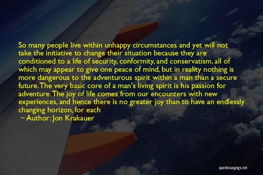 Change Initiative Quotes By Jon Krakauer