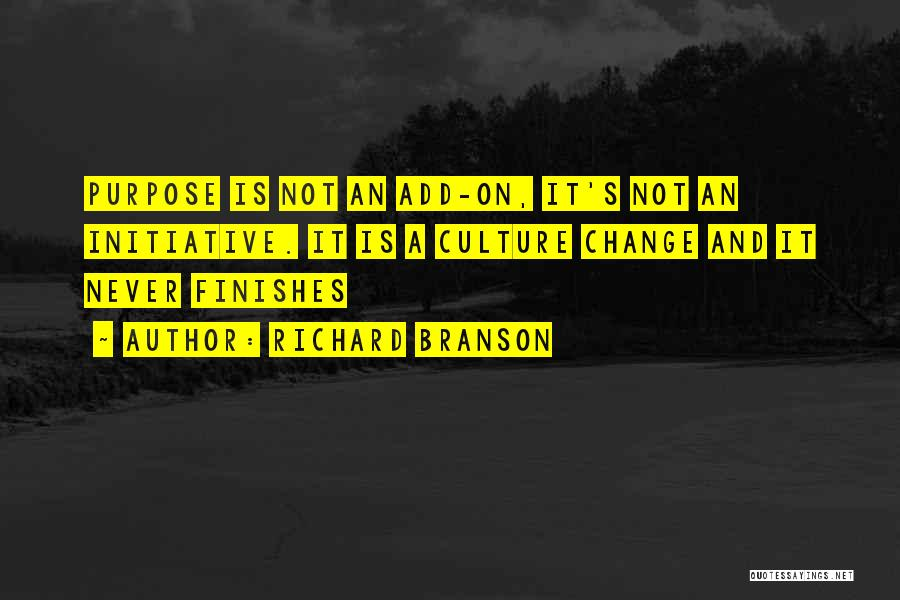 Change Initiative Quotes By Richard Branson