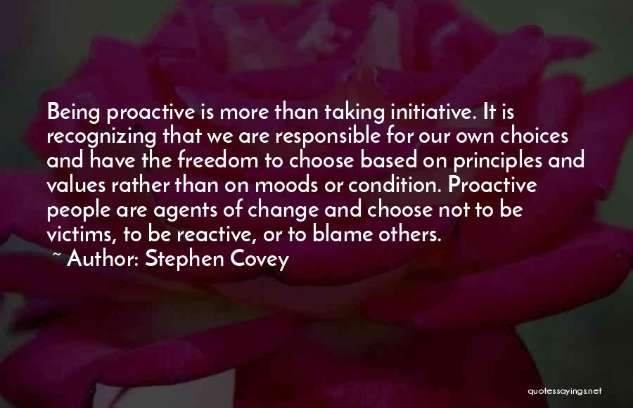 Change Initiative Quotes By Stephen Covey