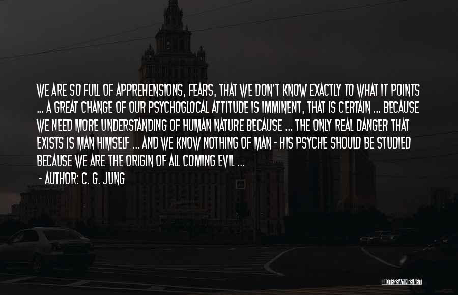 Change Is Imminent Quotes By C. G. Jung