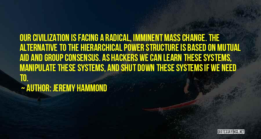 Change Is Imminent Quotes By Jeremy Hammond