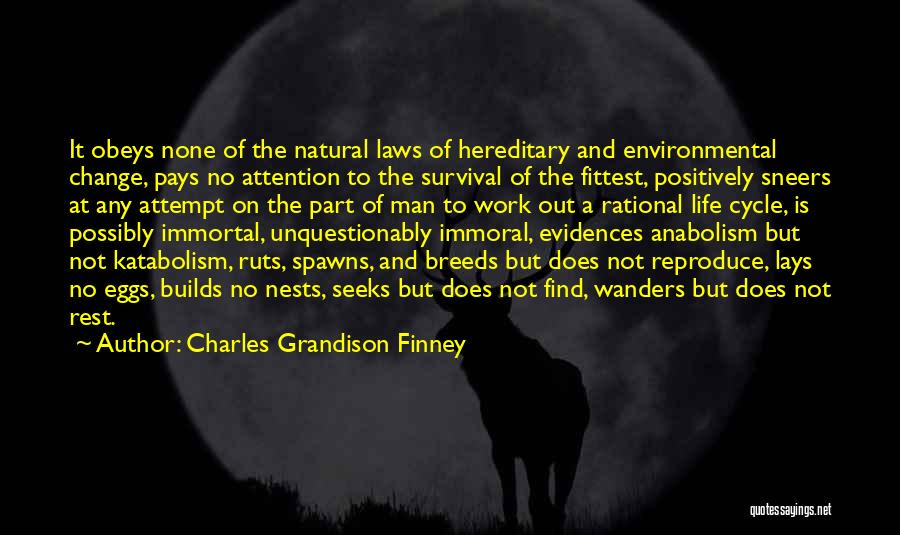 Change Is Part Of Life Quotes By Charles Grandison Finney