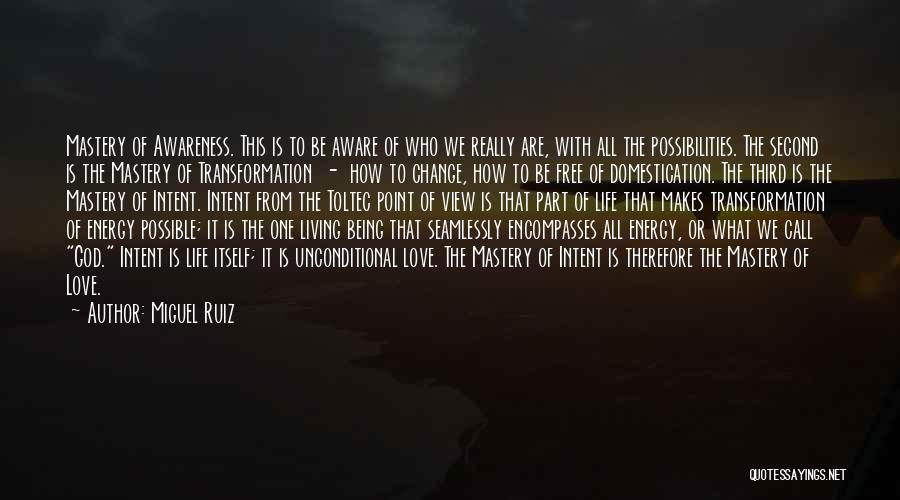 Change Is Part Of Life Quotes By Miguel Ruiz