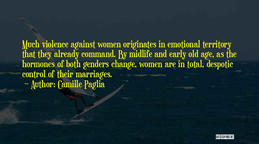 Change Of Command Quotes By Camille Paglia
