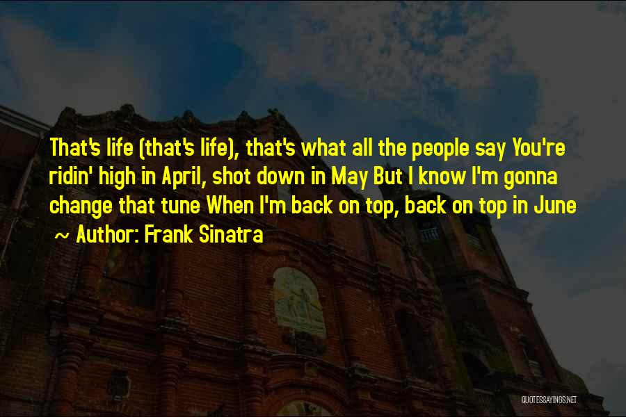 Change Tune Quotes By Frank Sinatra