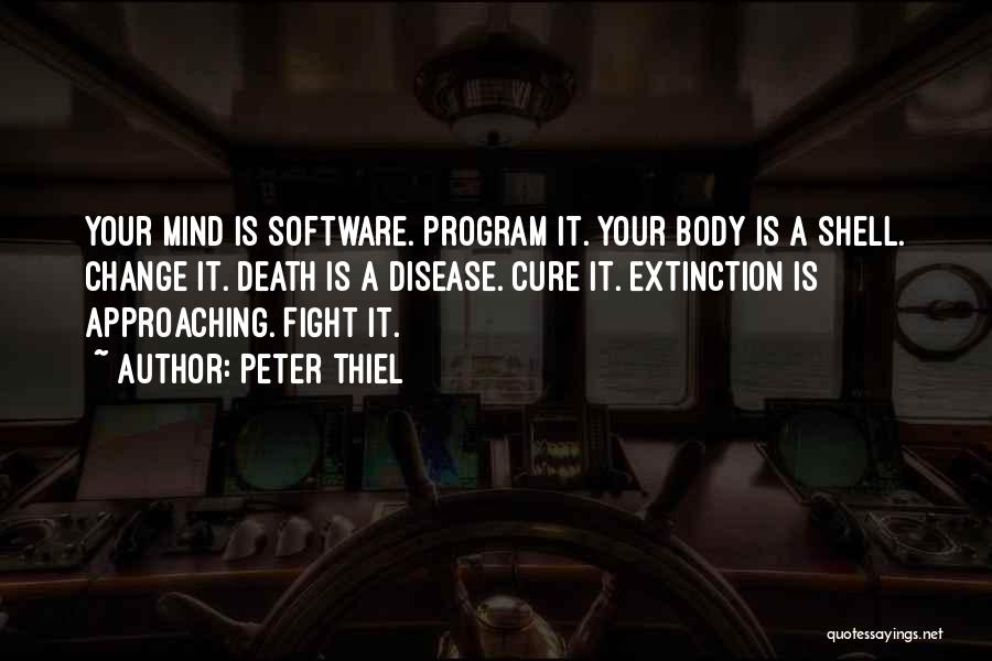 Change Your Mind Change Your Body Quotes By Peter Thiel