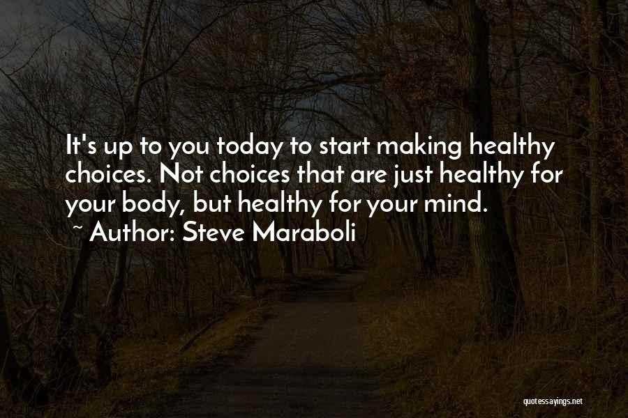 Change Your Mind Change Your Body Quotes By Steve Maraboli