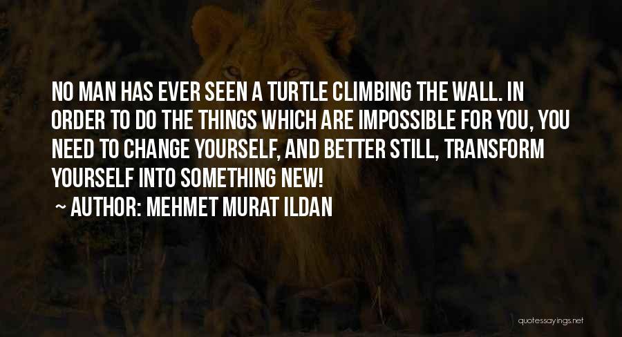 Change Yourself For The Better Quotes By Mehmet Murat Ildan