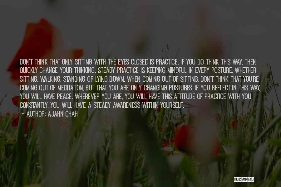 Changing Quickly Quotes By Ajahn Chah