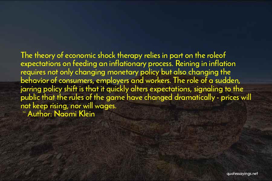 Changing Quickly Quotes By Naomi Klein