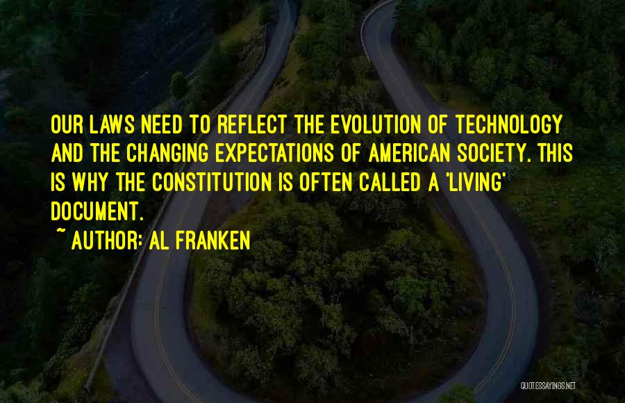 Changing The Constitution Quotes By Al Franken