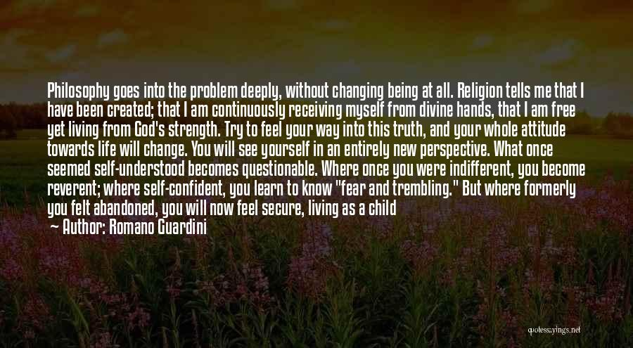 Changing The Life Of A Child Quotes By Romano Guardini