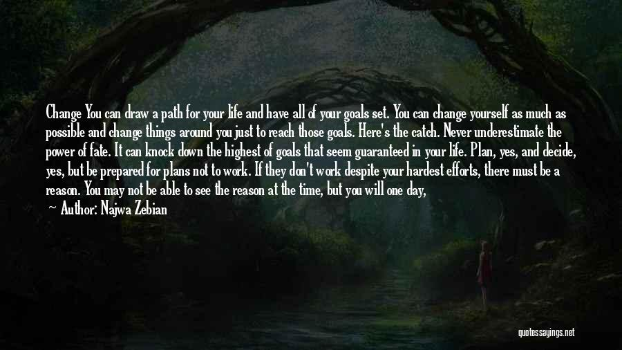 Changing Your Life Path Quotes By Najwa Zebian