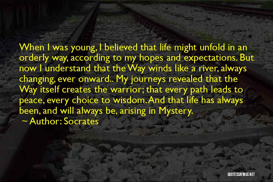 Changing Your Life Path Quotes By Socrates