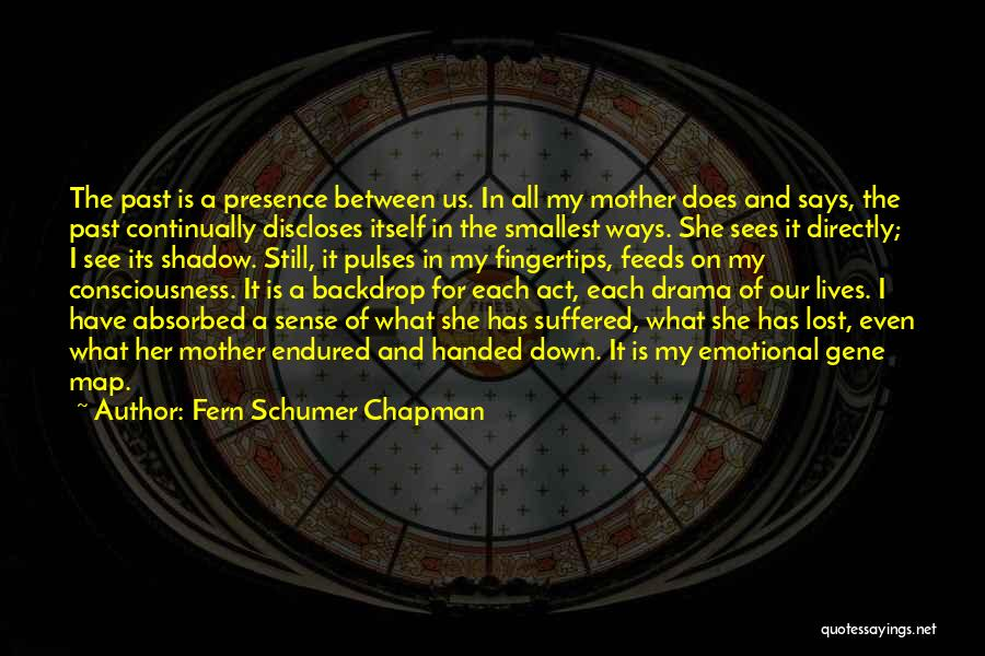 Chapman Quotes By Fern Schumer Chapman