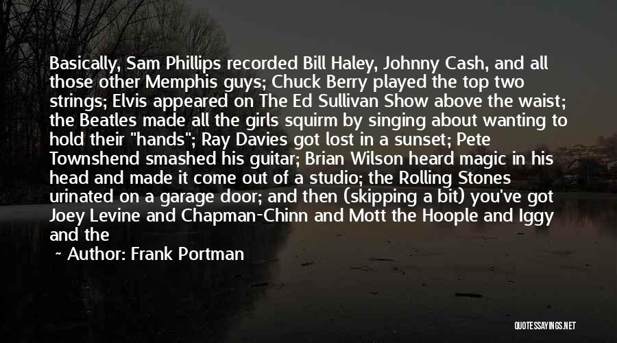 Chapman Quotes By Frank Portman