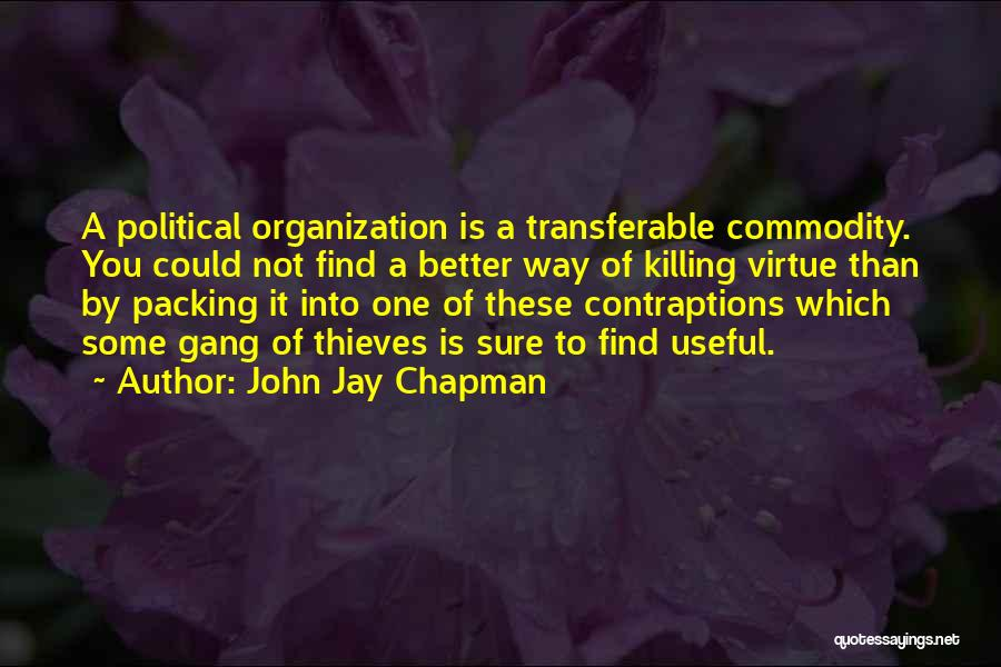 Chapman Quotes By John Jay Chapman