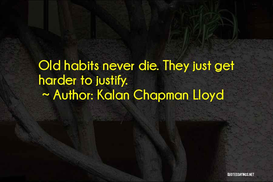 Chapman Quotes By Kalan Chapman Lloyd