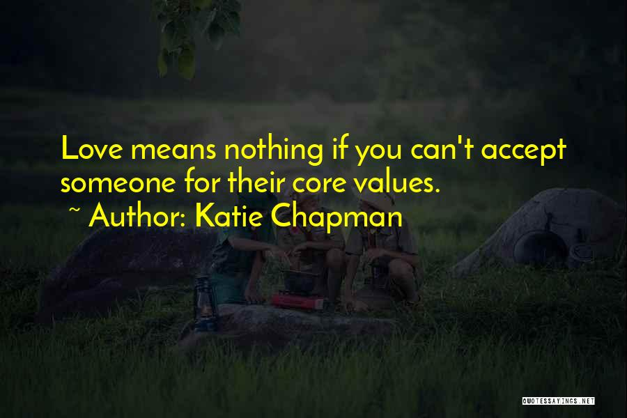 Chapman Quotes By Katie Chapman