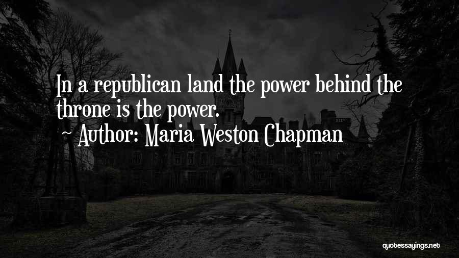 Chapman Quotes By Maria Weston Chapman