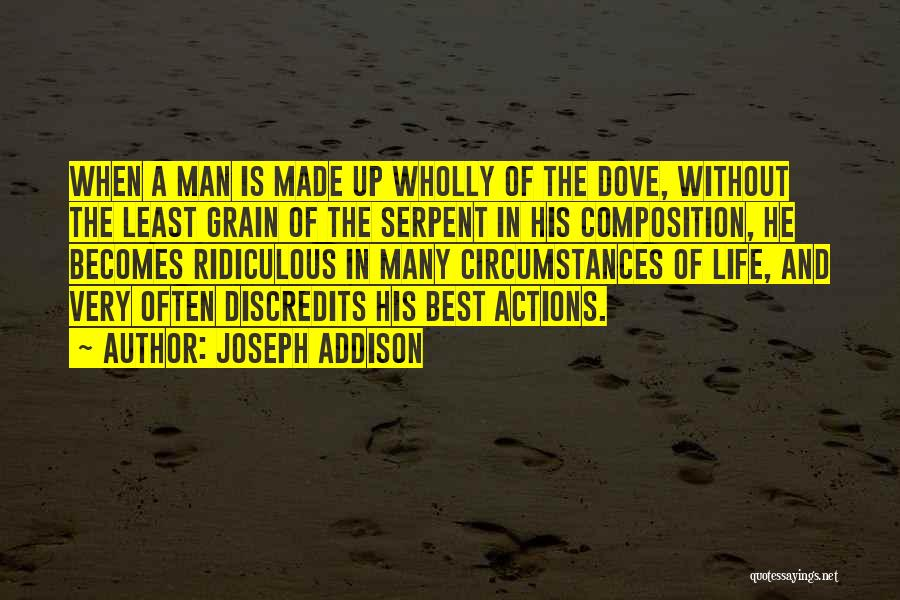 Character And Personality Quotes By Joseph Addison