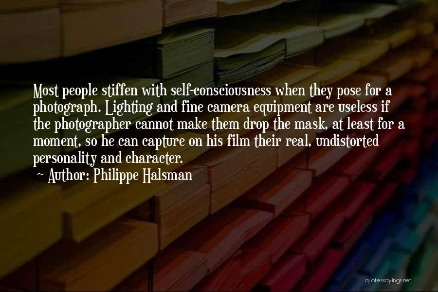 Character And Personality Quotes By Philippe Halsman