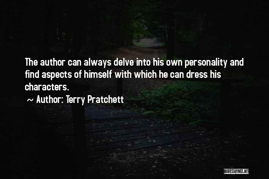 Character And Personality Quotes By Terry Pratchett
