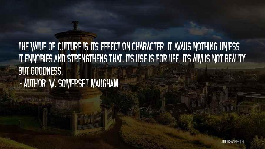 Character And Personality Quotes By W. Somerset Maugham