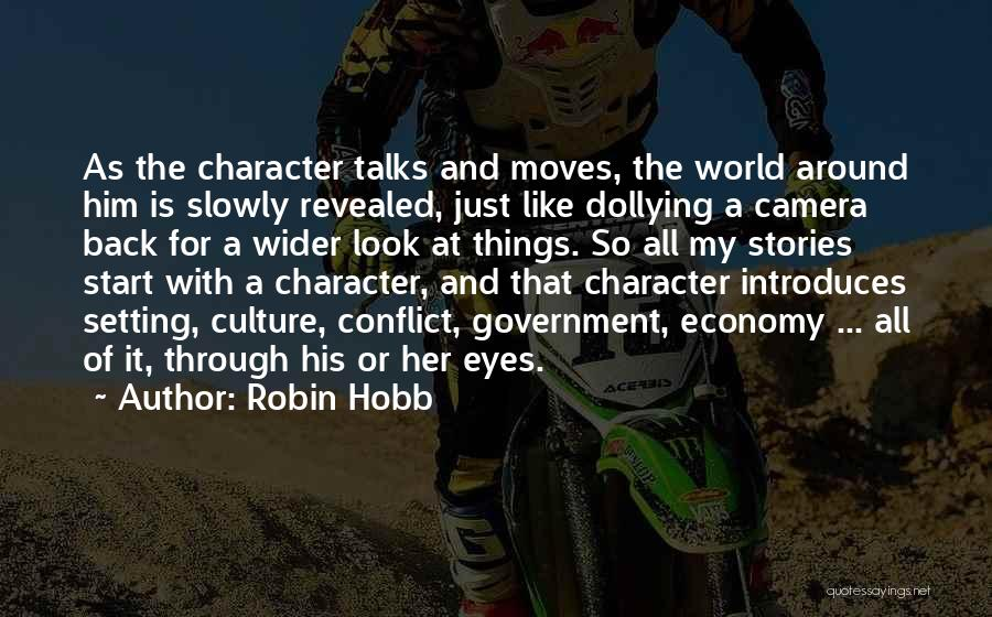Character And Setting Quotes By Robin Hobb