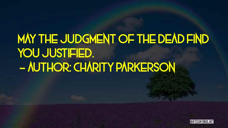 Charity Parkerson Quotes 2135912