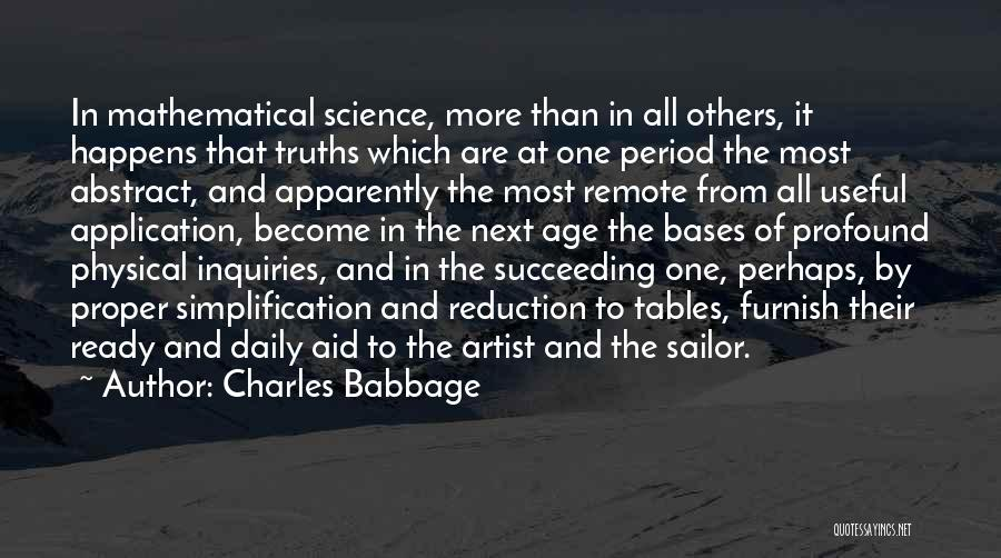 Charles Babbage Quotes 1031910