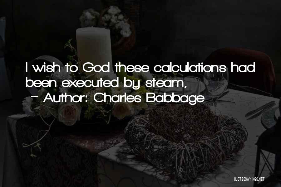 Charles Babbage Quotes 1096200