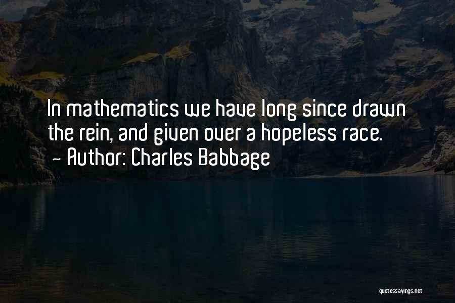 Charles Babbage Quotes 1336320