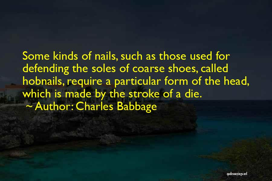 Charles Babbage Quotes 1695517