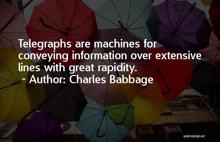 Charles Babbage Quotes 2007680
