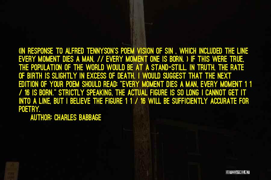 Charles Babbage Quotes 2175927