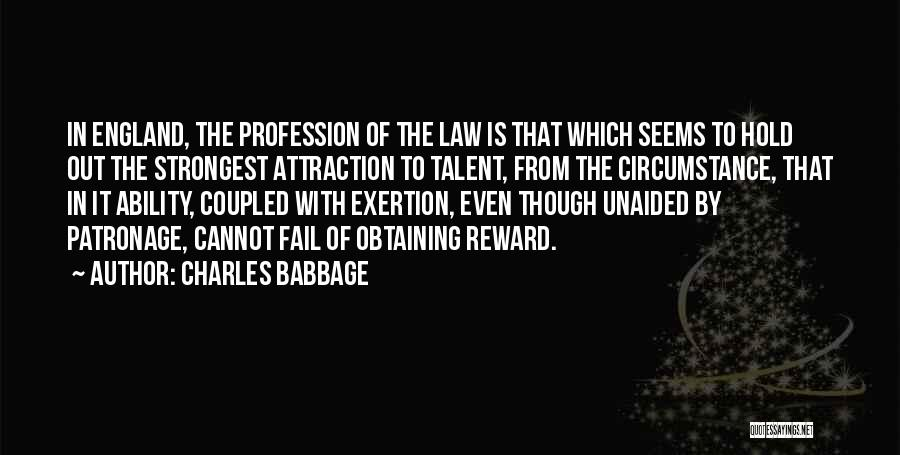 Charles Babbage Quotes 218338
