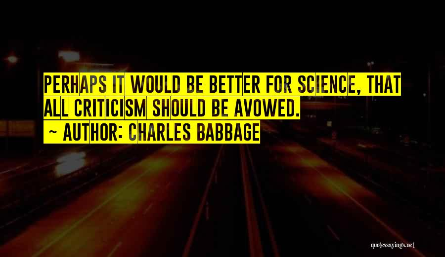 Charles Babbage Quotes 282899