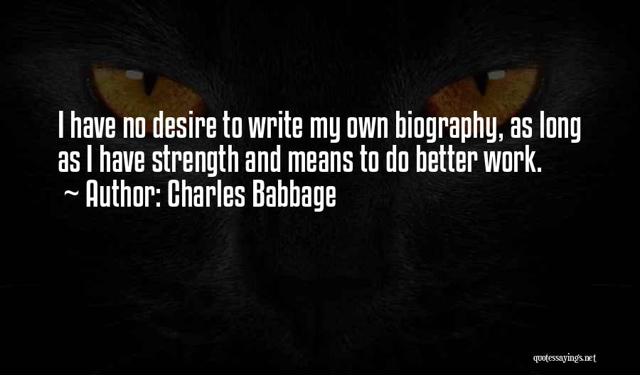 Charles Babbage Quotes 406004