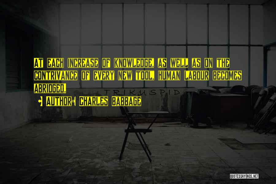 Charles Babbage Quotes 494973