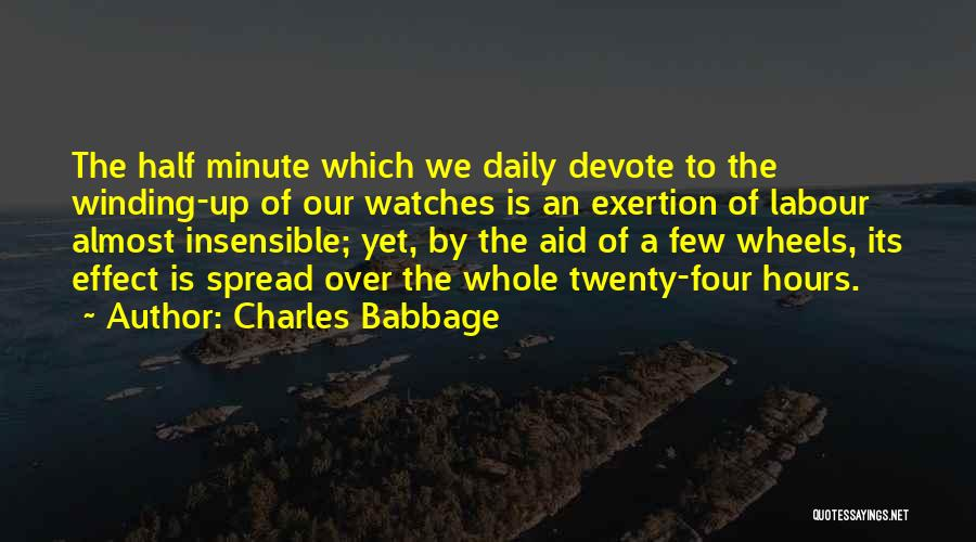 Charles Babbage Quotes 602791