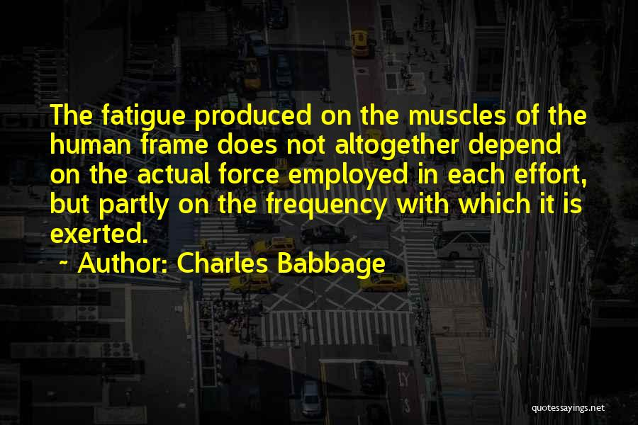 Charles Babbage Quotes 679443