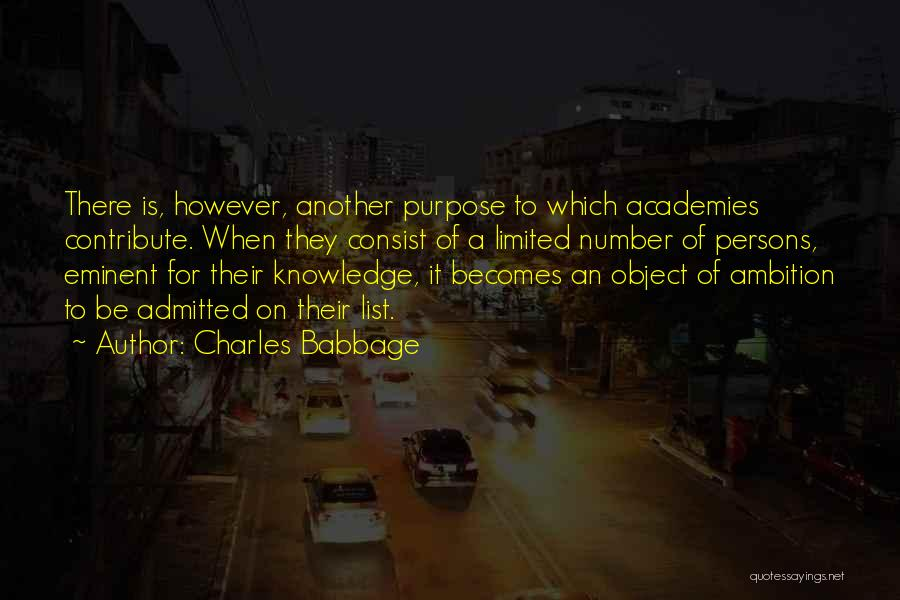 Charles Babbage Quotes 740009