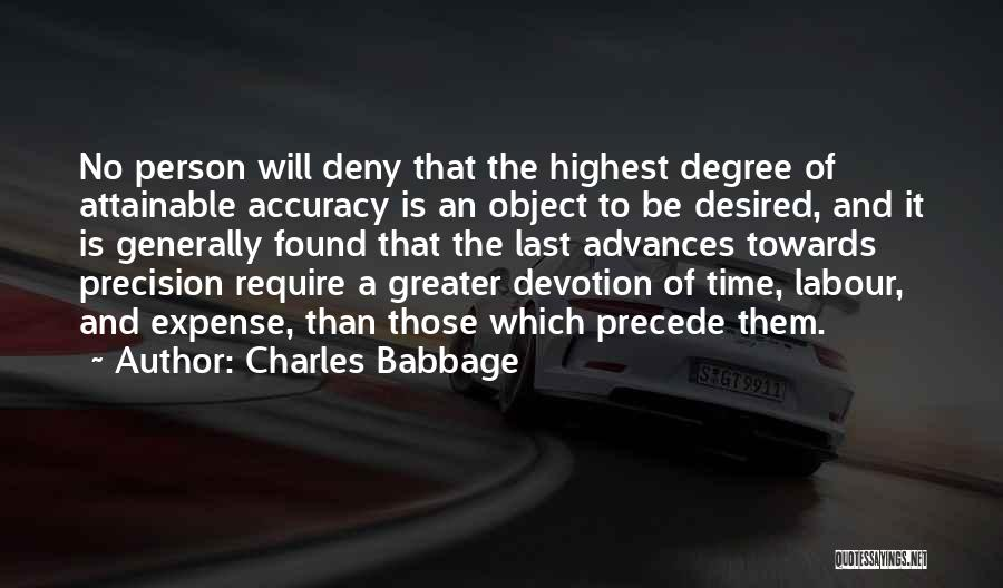 Charles Babbage Quotes 920124