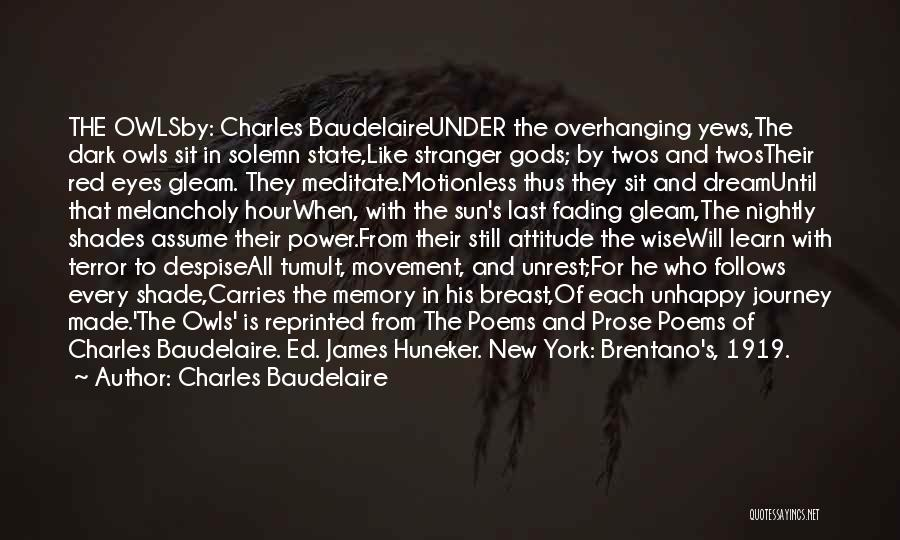 Charles Baudelaire Quotes 1096114
