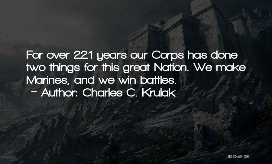 Charles C. Krulak Quotes 213720