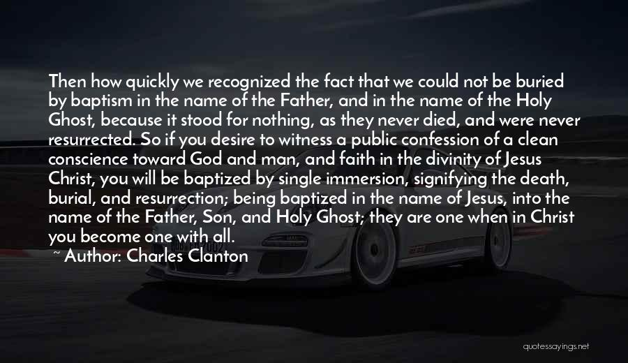 Charles Clanton Quotes 335390