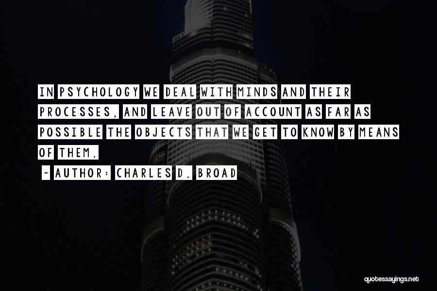 Charles D. Broad Quotes 1050331