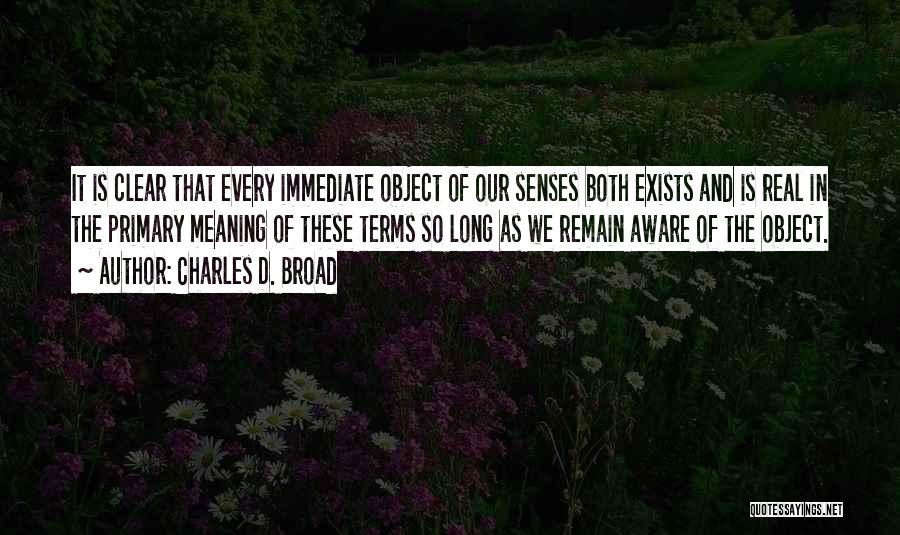 Charles D. Broad Quotes 1902641