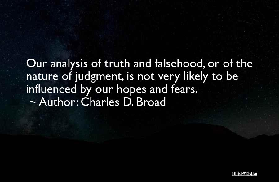 Charles D. Broad Quotes 207887